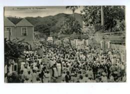 144595 SAINT VINCENT Procession A.O. Foresters Vintage PC - Antilles