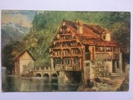 SWITZERLAND - Old Inn At Treib - 1913 - Photocrom - UR Uri