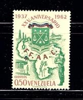 Venezuela 840 MNH 1963 Issue - Venezuela