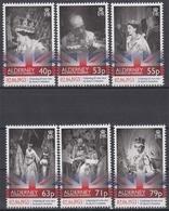 Alderney MiNr. 471/76 ** 60. Jahrestag Der Krönung Von Königin Elisabeth II. - Alderney
