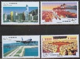 China MiNr. 2778/81 **, Wirtschaftswachstum In Hongkong - 1949 - ... République Populaire