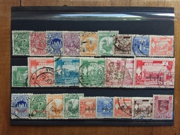 BURMA - Lotticino 24 Francobolli Differenti Timbrati + Spese Postali - Myanmar (Burma 1948-...)