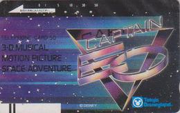 Télécarte Ancienne Japon / 110-20856 - DISNEY DISNEYLAND - CAPTAIN EO  SPACE ADVENTURE - Japan Front Bar Phonecard / B - Disney