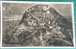 Hohentwiel Vom Flugzeug ~ Black & White Photo Postcard - Other