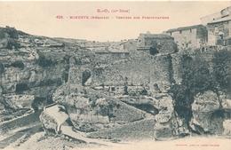 CPA - France - (34) Hérault - Minerve - Vestiges Des Fortifications - Lamalou Les Bains