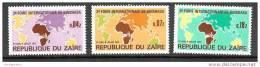 A1115 ZAIRE 1973, SG820-2, 3rd International Fair Of Kinshasa (FIKIN)  MNH - Zaire