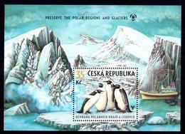 Ceska Tsjechië Czech Republic 2009 R MNH Serie Birds Oiseaux Vogels Vögel Pájaros Ptitsy Passarinhos Pinguins Penguins - Penguins