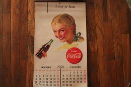 Calendrier Coca-cola 1956 - Calendars