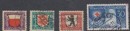 Switzerland 1928 Pro Juventute 4v Used (44122C) - Pro Juventute