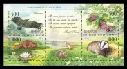 Belarus 2005 Mih. 589/92 (Bl.46) Nature. Flora And Fauna (joint Issue Belarus-Russia) MNH ** - Belarus