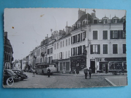 89 - Avallon - CPSM - Rue De Lyon - Autobus - 1955 - Avallon