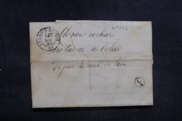 FRANCE - Lettre De La Croix Rousse Pour Belley En 1848 - L 38585 - Poststempel (Briefe)