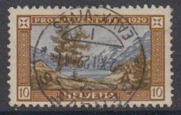 Switzerland 1929 Pro Juventute 10c Used (44123B) - Pro Juventute