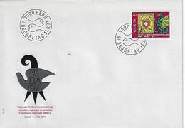 "Switzerland 1971  ""NABA`71""  11.3.71  FDC  Mi.943 - FDC"