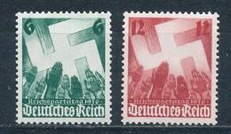 Deutsches Reich 632/33 ** Mi. 14,- - Nuovi