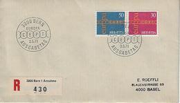 "Switzerland 1971  ""EUROPA""  3.5.71  FDC  Mi.947-948 - FDC"