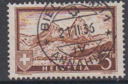 Switzerland 1931 Definitive / Mythen 3Fr 1v Used (44123C) - Gebruikt