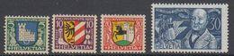 Switzerland 1930 Pro Juventute 4v ** Mnh (44123H) - Ongebruikt