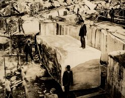 Marmel MINING MNAS MINE 17*14CM Fonds Victor FORBIN 1864-1947 - Profesiones