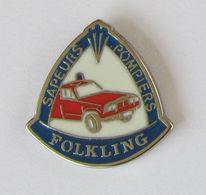 1 Pin's Sapeurs Pompiers De FOLKING (Moselle-57) - Firemen