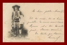 Vieux Braconnier De Locronan   * Scan Recto Et Verso   Pli Bas Gauche - Locronan