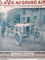 1908 AUTOMOBILE - COMPIÉGNE - LA COUPE DES VOITURETTES - SIZAIRE - F DE BAZELAIRE - MENARD ET SONVICO À PIERREFONDS - Libros, Revistas, Cómics