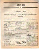 ANNUAIRE - 41 - Département Loir Et Cher - Année 1967 - édition Didot-Bottin - 90 Pages - Telefonbücher