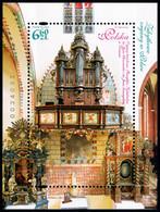 Poland 2019 Fi BLOK 334 Mi BLOCK 288 Historic Organs In Poland - Nuevos