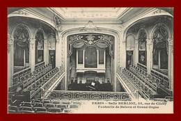 Paris * Salle Berlioz * Orgue   * Scan Recto Et Verso - Distretto: 09