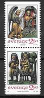 Suède 1994 N°1839/1840 Neufs Noël - Suecia