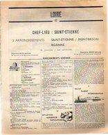 ANNUAIRE - 42 - Département Loire - Année 1967 - édition Didot-Bottin - 238 Pages - Annuaires Téléphoniques