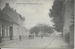 BEVEREN-WAES   BOULEVARD  ST. LOUIS     ECRITE 1914 - Beveren-Waas