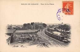 13-SALIN-DE-GIRAUD- VUE DE LA PLACE - Autres Communes