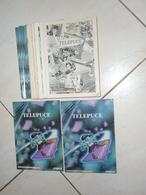 """Rarissime COLLECTION COMPLÈTE """" TELEPUCE """" + La CINECARTE - T.B.E - Télécartes"""