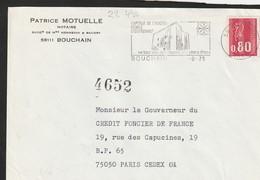 FLAMME  PERMANENTE 59  BOUCHAIN - Mechanical Postmarks (Advertisement)