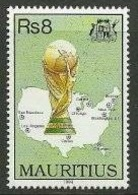 Soccer Football Mauritius #779 1994 World Cup USA MNH ** - World Cup