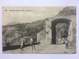 ITALY - Bemi - Porteria Del Baroni E Veduta Di Monte Cave- 1909 - Da Sanctin 220 - Italia