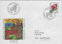 Switzerland 1977  ST-IMIER  3-4.12.77  Mi.1115 - Covers & Documents