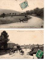 Ardennes : 2 Cpa Attelages - Autres Communes