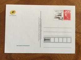 "CARTE POSTALE PRE TIMBREE FETE DU TIMBRE 2011 ""LE TIMBRE FETE LA TERRE"" - Neuf - Postal Stamped Stationery"