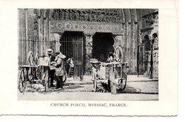 Poissac: Church Porch (rémouleurs) - Moissac