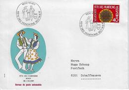 Switzerland 1977  VEVEY  30.7-14.8.77  Mi.1088 - Covers & Documents