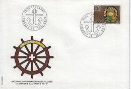 Switzerland 1978  LAUSANNE  26.5-4.6.78  Mi.1116 - Covers & Documents