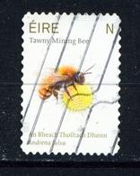 IRELAND  -  2019  Tawny Mining Bee  'N'  Self Adhesive Used As Scan - Used Stamps
