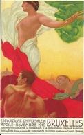 Esposizione Universale Di Bruxelles 1910, Riproduzione C01, Reproduction, Illustrazione, M. Dudovich Illustratore - Esposizioni