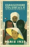 Esposizione Coloniale Internazionale Paris 1931, Riproduzione C02, Reproduction, Illustrazione, Desmeure Illustratore - Esposizioni