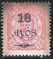 Macao Macau – 1902 King Carlos Surcharged 18 Avos - Macao