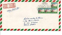 SIERRA LEONE ENTIER AVION A.... AFFRANCHISSEMENT MULTIPLE POUR LA FRANCE 1999 - Sierra Leone (1961-...)