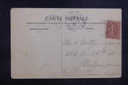 FRANCE - Type Semeuse Sur Carte Postale De Paris En 1905 Pour Les Etats Unis - L 38618 - 1877-1920: Période Semi Moderne