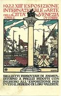 XIII Esposizione Internazionale Arte Città Venezia 1922, Riproduzione C04, Reproduction, Illustrazione, Cisari Illustrat - Esposizioni